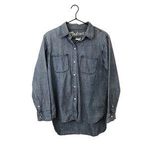 Madewell Denim Button Down Shirt